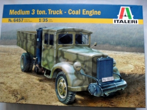 ITALERI 1/35 6457 OPEL BLITZ 3t TRUCK WITH COAL ENGINE