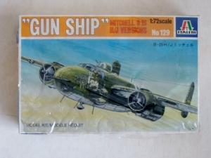 ITALERI 1/72 129 B-25H/J MITCHELL GUN SHIP