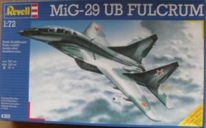 REVELL 1/72 4385 MiG-29 UB FULCRUM