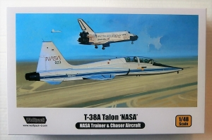 WOLFPACK 1/48 WP10002 T-38A TALON NASA JET TRAINER   CHASER AIRCRAFT