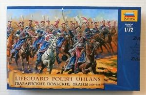ZVEZDA 1/72 8075 LIFEGUARD POLISH UHLANS 1809-1815