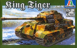 ITALERI 1/72 7004 KING TIGER