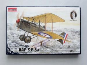 RODEN 1/72 023 RAF SE.5A w/HISPANO SUIZA
