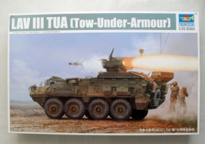 TRUMPETER 1/35 01558 LAV III TUA TOW UNDER ARMOUR