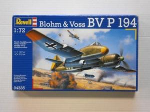 REVELL 1/72 04335 BLOHM   VOSS BV P-194