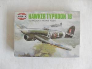 AIRFIX 1/72 61027 HAWKER TYPHOON 1B