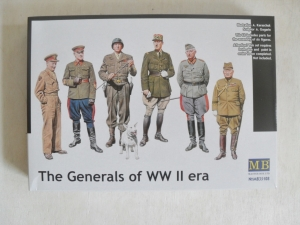 MASTERBOX 1/35 35108 THE GENERALS OF WWII ERA