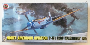 AIRFIX 1/24 14003 NORTH AMERICAN P-51 K/RF MUSTANG IVA  UK SALE ONLY
