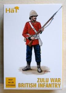 HAT INDUSTRIES 1/72 8237 ZULU WAR BRITISH INFANTRY