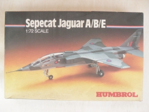 HUMBROL 1/72 72005 SEPECAT JAGUAR A/B/E