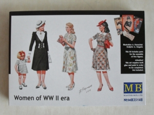 MASTERBOX 1/35 35148 WOMEN OF WWII ERA