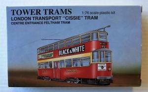 TOWER MODELS 1/76 LONDON TRANSPORT CISSIE TRAM