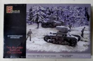 PEGASUS HOBBIES 1/72 7671 SOVIET T-26 LIGHT TANK