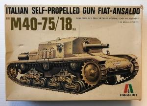 ITALERI 1/35 214 FIAT-ANSALDO M40-75/18