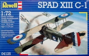 REVELL 1/72 04125 SPAD XIII C-1