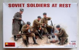MINIART 1/35 35028 SOVIET SOLDIERS AT REST