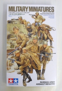 TAMIYA 1/35 35207 RUSSIAN ASSAULT INFANTRY
