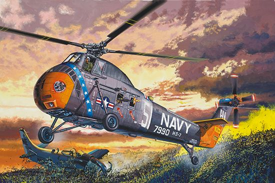 TRUMPETER 1/48 02882 H-34 US NAVY RESCUE