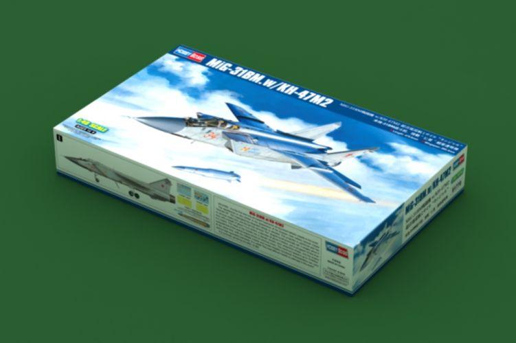 HOBBYBOSS 1/48 81770 MIG-31BM WITH KH-47M2  UK SALE ONLY