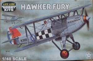 LIFELIKE 1/48 09608 HAWKER FURY