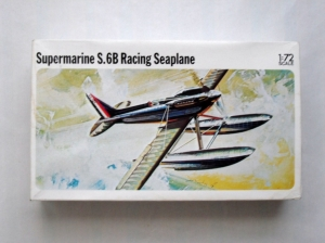 NOVO IMPORT 1/72 F164 SUPERMARINE S.6B RACING SEAPLANE