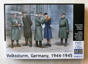 MASTERBOX 1/35 35172 VOLKSSTURM GERMANY 1944-45