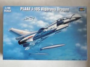 TRUMPETER 1/48 02842 PLAAF J-10S VIGOROUS DRAGON
