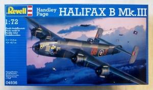 REVELL 1/72 04936 HANDLEY PAGE HALIFAX B Mk.III