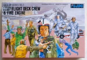 FUJIMI 1/72 35002 US NAVY FLIGHT DECK CREW   FIRE ENGINE