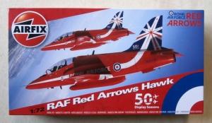 AIRFIX 1/72 02005B RAF RED ARROWS HAWK 50 DISPLAY SEASONS