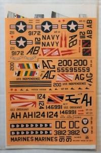 ESCI 1/72 833. ESCI F-8 CRUSADERS