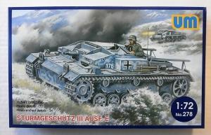 UNIMODEL 1/72 278 STURMGESCHUTZ III Ausf.E