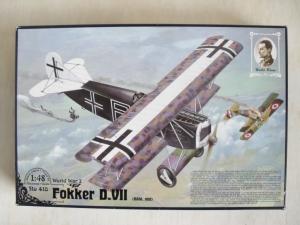 RODEN 1/48 418 FOKKER D.VII OAW MID
