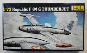 HELLER 1/72 278 REPUBLIC F-84G THUNDERJET
