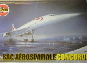 AIRFIX 1/72 09005 BAC AEROSPATIALE CONCORDE  UK SALE ONLY