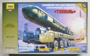 ZVEZDA 1/72 5003 TOPOL SS-25 SICKLE