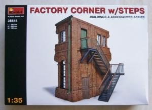 MINIART 1/35 35544 FACTORY CORNER w/STEPS