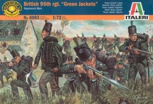 ITALERI 1/72 6083 BRITISH 95th Rgt GREEN JACKETS