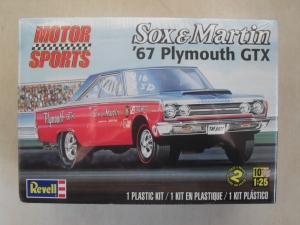 REVELL 1/25 4916 SOX   MARTIN 1967 PLYMOUTH GTX