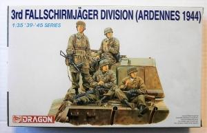 DRAGON 1/35 6113 3rd FALLSCHIRMJAGER DIVISION ARDENNES 1944