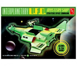 AMT OTHER SCALE 622 INTERPLANETARY UFO MYSTERY SHIP