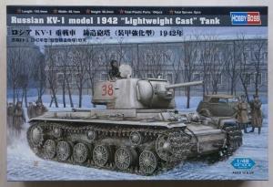 HOBBYBOSS 1/48 84814 RUSSIAN KV-1 MODEL 1942 LIGHTWEIGHT CAST