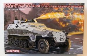 DRAGON 1/35 6864 Sd.Kfz.251/16 Ausf.C mit 14mm FLAMMPANZERWAGEN