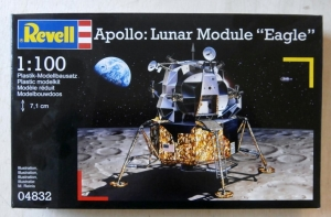 REVELL 1/100 04832 APOLLO LUNAR MODULE EAGLE