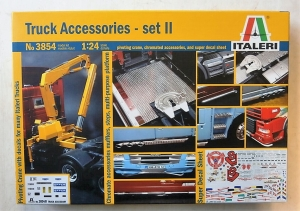 ITALERI 1/24 3854 TRUCK ACCESSORIES SET II