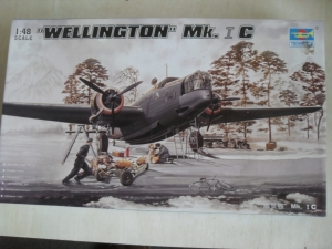 TRUMPETER 1/48 02808 WELLINGTON Mk.IC