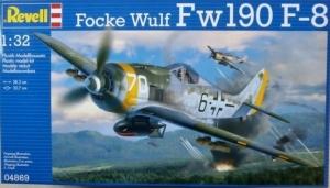 REVELL 1/32 04869 FOCKE-WULF Fw 190 F-8