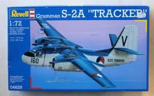 REVELL 1/72 04629 GRUMMAN S-2A TRACKER