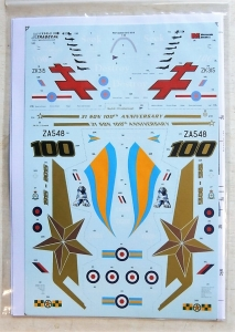 XTRADECAL 1/48 48161 RAF UPDATE 2015 TO 2016
