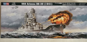 HOBBYBOSS 1/700 83401 USS ARIZONA BB-39  1941